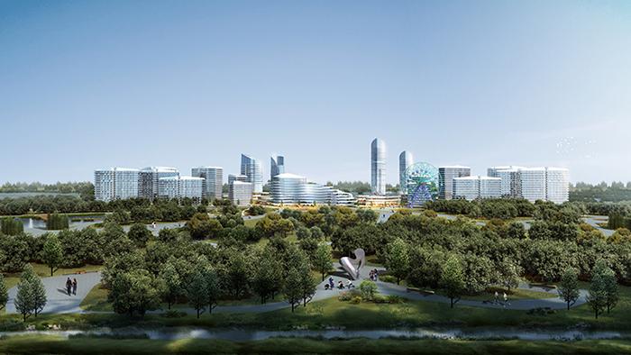 桂东海等  工程简介:   榆垡镇位于新航城中心区范围内,未来榆垡镇